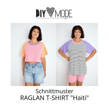 Raglan T-Shirt Haiti - DIY MODE Schnittmuster